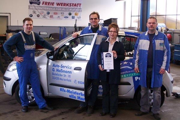 Team Auto-Service Haßmann - auf einen Blick -